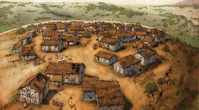 poblado medieval noviales