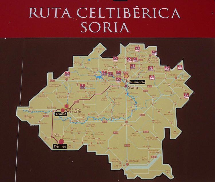 Ruta Celtiberica en Soria provincia
