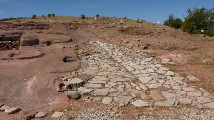 calzada romana Tiermes