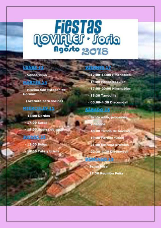 Fiestas Noviales 2018